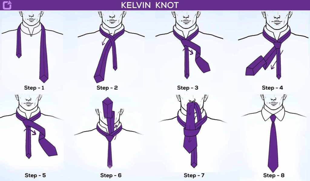 How To Tie A Kelvin Knot with Step By Step Instructions - nexoye